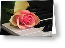 The Delicate Rose Greeting Card