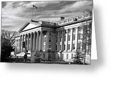 The Department Of Treasury Greeting Card
