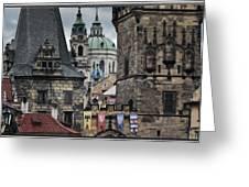 The Depths Of Prague Greeting Card