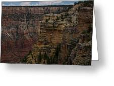 The Depths Of The Canyons Greeting Card