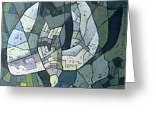 The Descending Dove Libra, 1966 Greeting Card