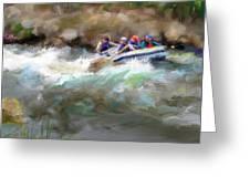 The Deshka River Alaska Greeting Card