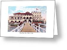 The Detroit Boat Club - Belle Isle - 1910 Greeting Card