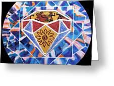 The Diamond Of Civilization Greeting Card