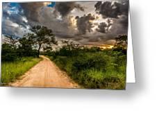 The Dirt Road Greeting Card