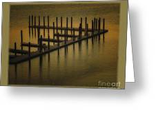 The Dock Greeting Card