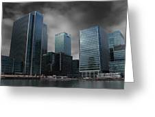 The Docklands Greeting Card