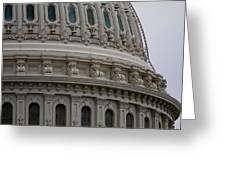 The Dome Of The Capitol Greeting Card