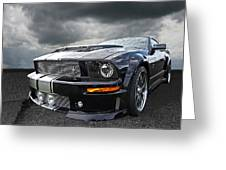 The Dominator - Cervini Mustang Greeting Card