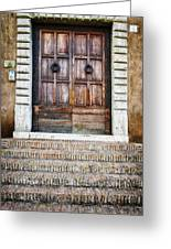 The Door At Number 5 Greeting Card