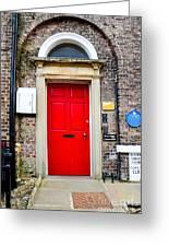 The Door To James Herriot's World Greeting Card