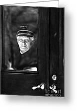 The Doorman Greeting Card