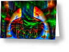The Doors Of Perception Greeting Card by Omaste Witkowski