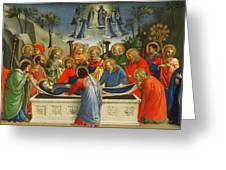 The Dormition Of The Virgin Greeting Card