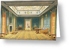 The Double Lobby Or Gallery Greeting Card