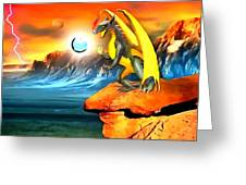 The Dragon Lands Greeting Card