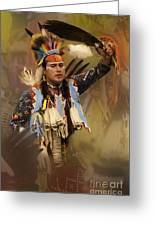Pow Wow The Dream Greeting Card
