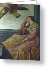The Dream Of Saint Helena Greeting Card