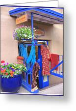 The Dress Shop - New Mexico Greeting Card