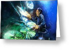 The Drummer 01 Greeting Card