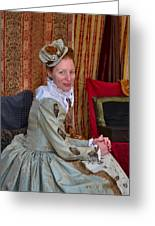 The Duchess Greeting Card by Julie Dant
