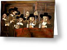 The Dutch Masters Greeting Card by Anthony Falbo