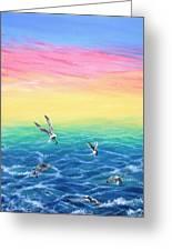 Sea To Sky Greeting Card