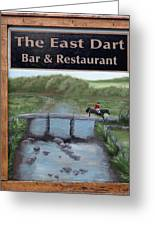 The East Dart Greeting Card