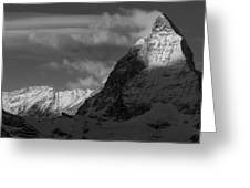 The East Face Greeting Card