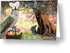 The Easter Hummer Greeting Card