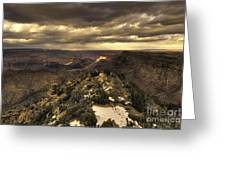 The Eastern Rim Of The Grand Canyon Greeting Card