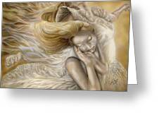 The Ecstasy Of Angels Greeting Card