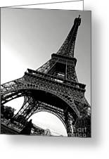 The Eiffel Tower Greeting Card by Olivier Le Queinec