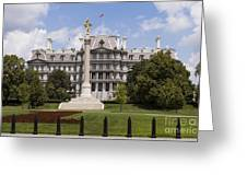 The Eisenhower Executive Office Building Greeting Card