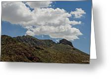 The Elephant Above El Paso Greeting Card