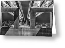 The Elevated Freeway Greeting Card