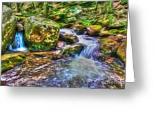 The Emerald Forest 2 Greeting Card