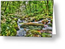The Emerald Forest 4 Greeting Card