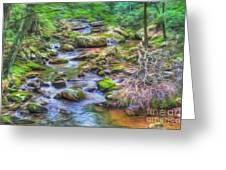 The Emerald Forest 6 Greeting Card