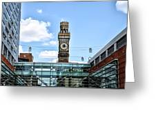 The Emerson Bromo-seltzer Tower Greeting Card