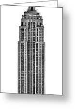 The Empire State Building Greeting Card by Luciano Mortula