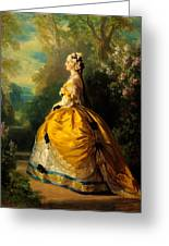 The Empress Eugenie Greeting Card