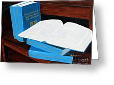 The Encyclopedia Of Newfoundland And Labrador - Joeys Books Greeting Card