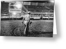 The End Of The Rodeo Greeting Card