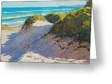 The Entrance Dunes Greeting Card by Graham Gercken