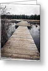 Pier Hamilton Marsh  Greeting Card