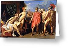 The Envoys Of Agamemnon Greeting Card
