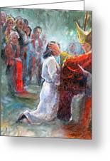 The Episcopal Ordination Of Sierra Wilkinson Greeting Card