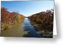 The Erie Canal Greeting Card
