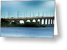 The Ernest F. Lyons Replacement Bridge Greeting Card